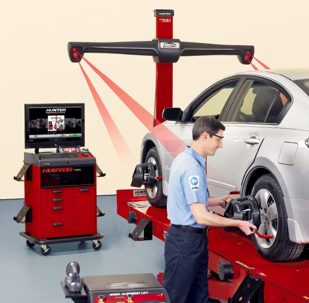 Wheel Alignment. Hi Way Tyres